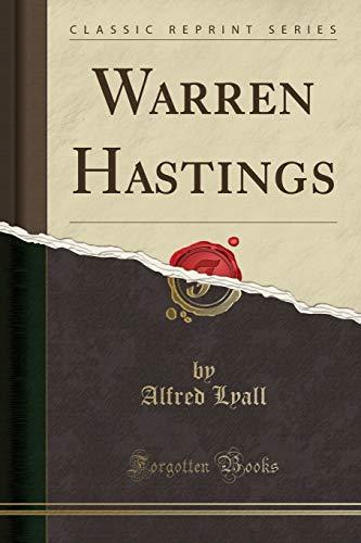 9781331317104: Warren Hastings (Classic Reprint)