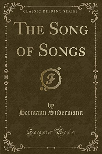 9781331333593: The Song of Songs (Classic Reprint)