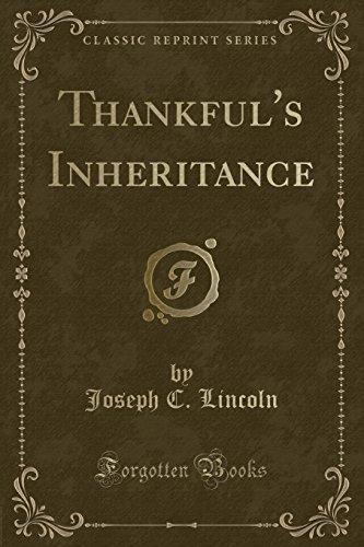 9781331445876: Thankful's Inheritance (Classic Reprint)