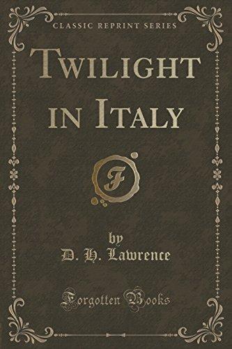 9781331453765: Twilight in Italy (Classic Reprint)