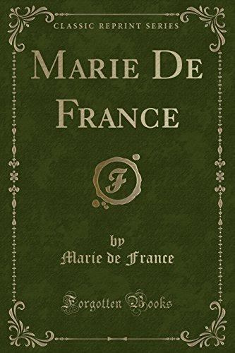 9781331710967: Marie De France (Classic Reprint)