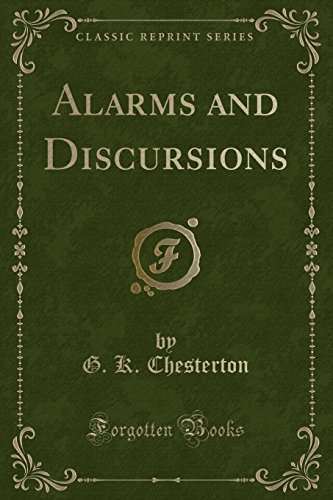 9781331827849: Alarms and Discursions (Classic Reprint)