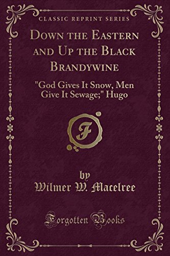 9781332122066: Down the Eastern and Up the Black Brandywine: