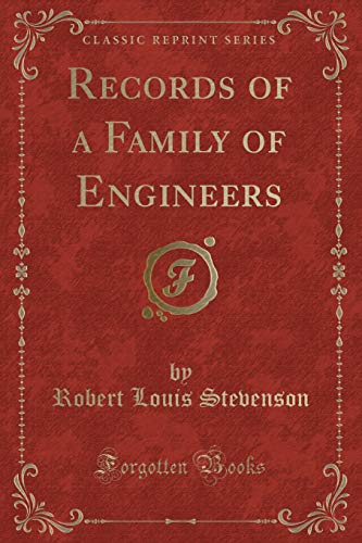 9781332305100: Records of a Family of Engineers (Classic Reprint)