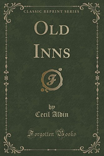 9781332312498: Old Inns (Classic Reprint)