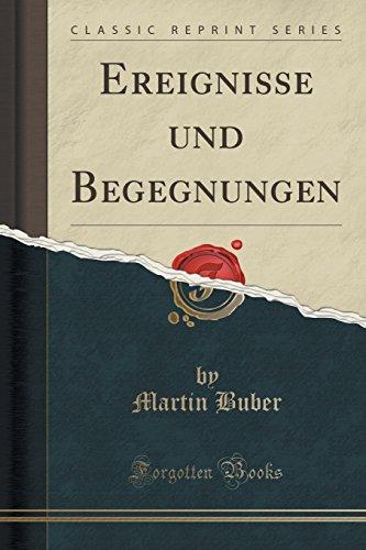 9781332355570: Ereignisse und Begegnungen (Classic Reprint) (German Edition)