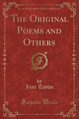 9781332421985: The Original Poems and Others (Classic Reprint)