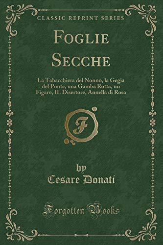 Foglie Secche: La Tabacchiera del Nonno, La: Cesare Donati