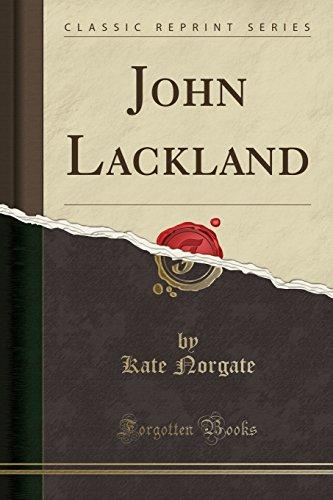 9781332752744: John Lackland (Classic Reprint)