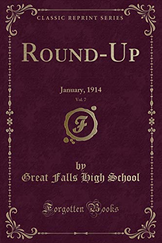 9781332934355: Round-Up, Vol. 7: January, 1914 (Classic Reprint)