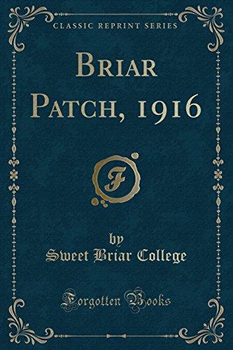 9781333053482: Briar Patch, 1916 (Classic Reprint)