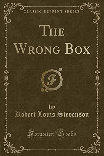 9781333054960: The Wrong Box (Classic Reprint)