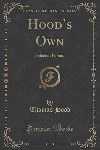 9781333059767: Hood's Own: Selected Papers (Classic Reprint)