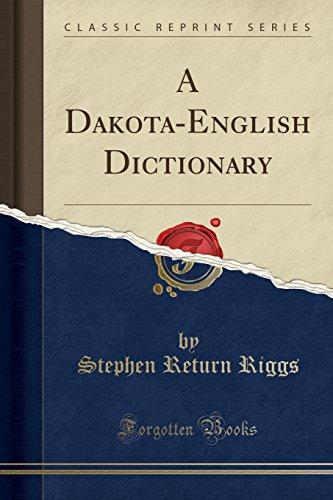9781333073398: A Dakota-English Dictionary (Classic Reprint)