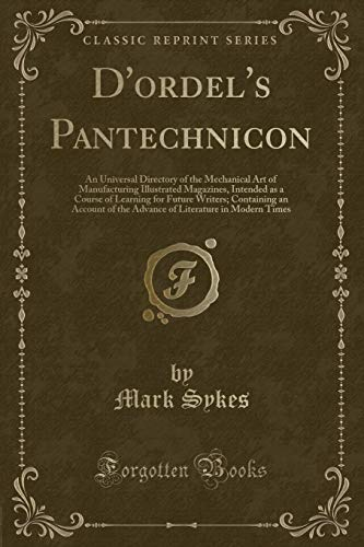 D`Ordel`s Pantechnicon: An Universal Directory of the