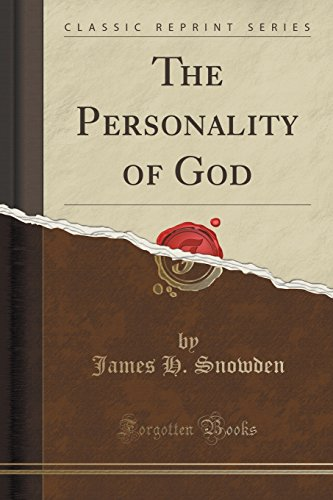 9781333524296: The Personality of God (Classic Reprint)