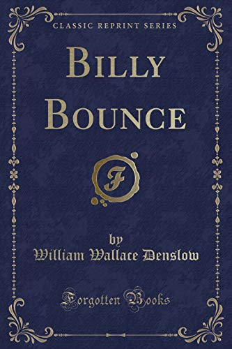 9781333546380: Billy Bounce (Classic Reprint)