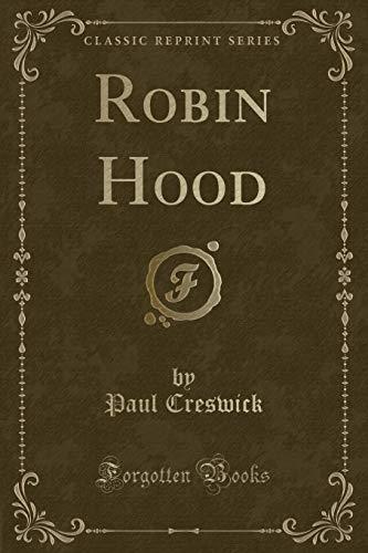 9781333562045: Robin Hood (Classic Reprint)