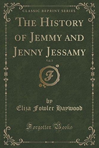 The History of Jemmy and Jenny Jessamy,