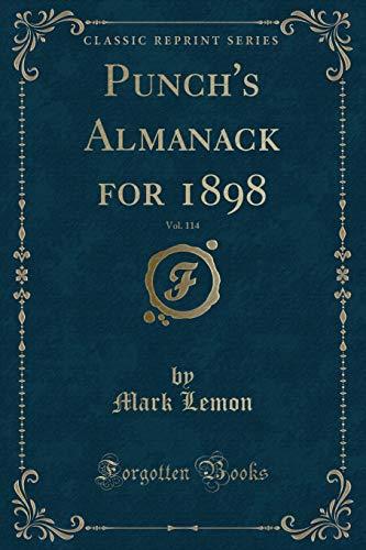 Punch's Almanack for 1898, Vol. 114 (Classic: Lemon, Mark