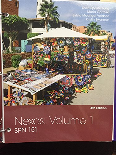 9781337046114: Nexos: Volume 1 SPN 151 4th Edition