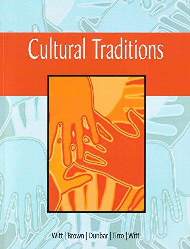 9781337055970: Cultural Traditions