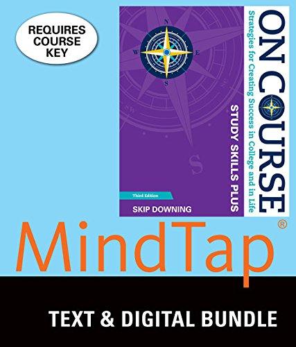 Bundle: On Course Study Skills Plus, Loose-leaf: Skip Downing