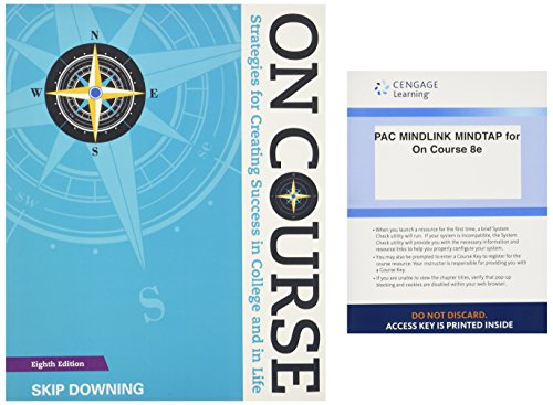 Bundle: On Course: Strategies for Creating Success: Skip Downing