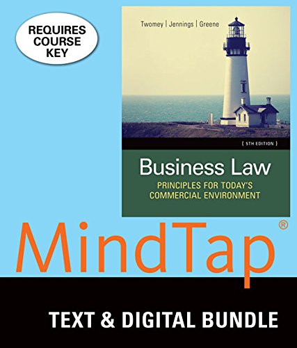 Bundle: Business Law: Principles for Today's Commercial: Twomey, David P.;