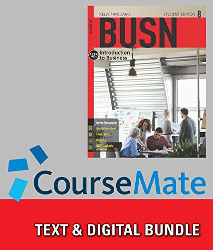 9781337073790: Busn + Coursemate, 1-term Access