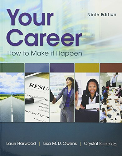 9781337073820: Bundle: Your Career: How To Make It Happen, 9th + LMS Integrated for MindTap Career Success, 2 terms (12 months) Printed Access Card