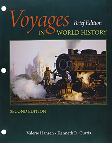 9781337076548: Bundle: Voyages in World History, Brief, Loose-leaf Version, 2nd + LMS Integrated for MindTap History, 1 term (6 months) Printed Access Card, Vol I Brief