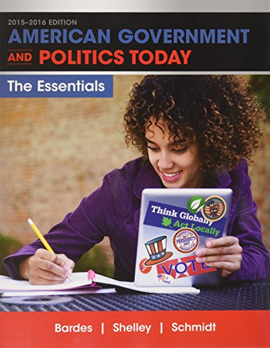 9781337077514: Bundle: American Government and Politics Today: Essentials 2015-2016 Edition (Book Only), 18th + LMS Integrated for MindTap Political Science, 1 terms (6 months) Printed Access Card