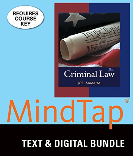 Bundle: Criminal Law, Loose-leaf Version, 12th + LMS Integrated MindTap Criminal Justice, 1 term (6...