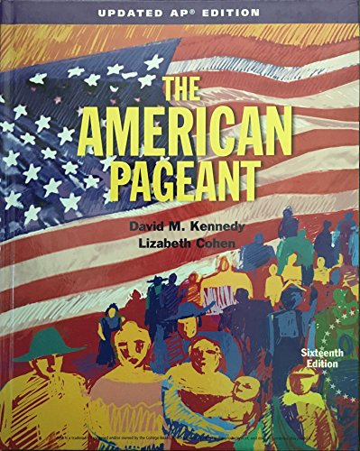 9781337090155: The American Pageant, AP Edition, Updated