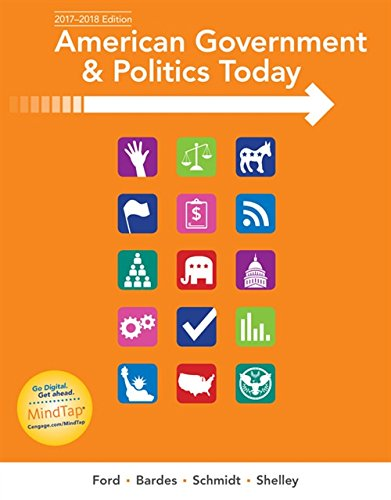 9781337093255: American Government and Politics Today: No Separate Policy Chapters Version, 2016-2017 Edition