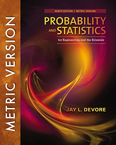 9781337094269: Probability and Statistics for Engineering and the Sciences, International Metric Edition