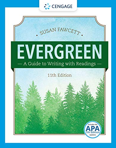 9781337097048: Evergreen: A Guide to Writing with Readings
