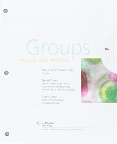 9781337111850: Groups: Process and Practice, Loose-Leaf Version