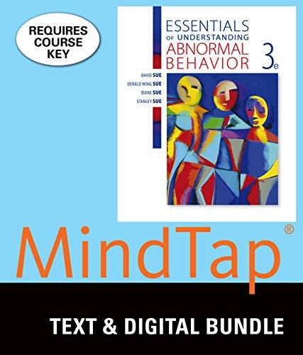9781337124225: Bundle: Essentials of Understanding Abnormal Behavior, 3rd + LMS Integrated for MindTap Psychology, 1 term (6 months) Printed Access Card