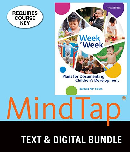 9781337124485: Bundle: Week by Week: Plans for Documenting Children's Development, 7th + MindTap Education, 1 term (6 months) Printed Access Card