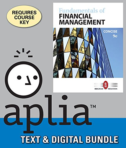9781337125352: Bundle: Fundamentals of Financial Management, Concise Edition, 9th + LMS Integrated for Aplia, 1 term Printed Access Card