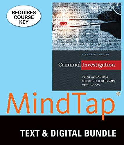 Bundle: Criminal Investigation, Loose-Leaf Version, 11th + LMS Integrated MindTap Criminal Justice,...