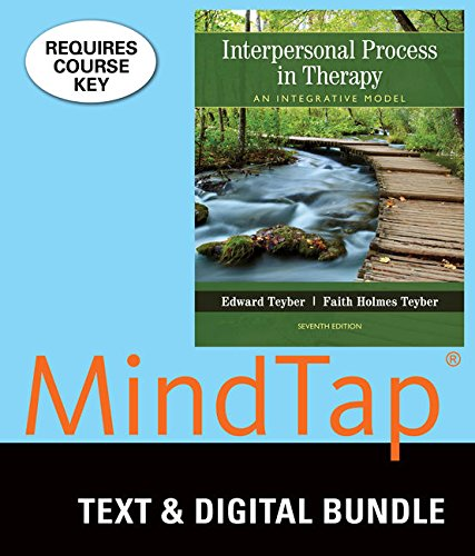Bundle: Interpersonal Process in Therapy: An Integrative Model, Loose-leaf Version, 7th + MindTap Counseling, 1 term (6 months) Printed Access Card - Edward Teyber