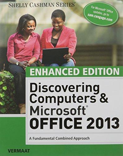 Bundle Enhanced Discovering Computers Microsoft By Misty Vermaat