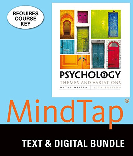 9781337190848: Psychology + Mindtap Psychology, 1 Term 6 Month Printed Access Card: Themes and Variations