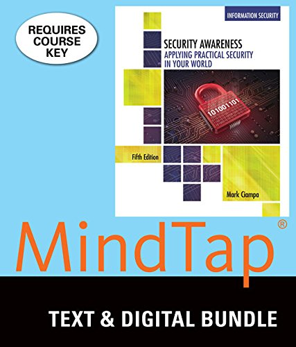 Bundle: Security Awareness: Applying Practical Security in Your World, 5th + LMS Integrated for ...