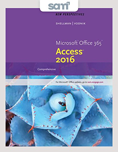 Bundle: New Perspectives Microsoft Office 365 & Access 2016: Comprehensive + SAM 365 & 2016 Assessme
