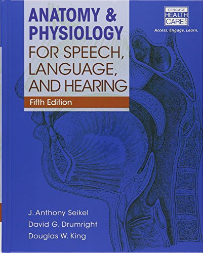 Bundle: Anatomy & Physiology for Speech, Language, and Hearing, 5th + with Anatesse Software ...