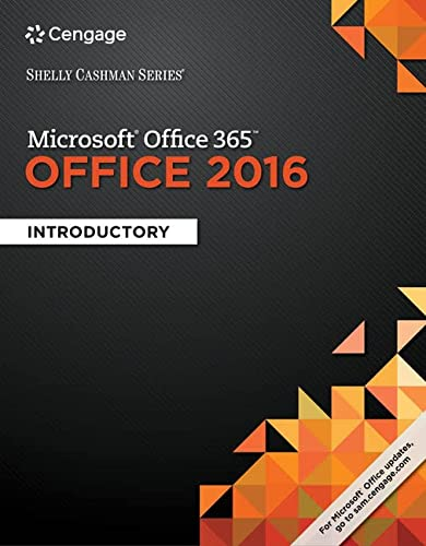9781337251037: Shelly Cashman Series Microsoft Office 365 & Office 2016: Introductory, Loose-leaf Version